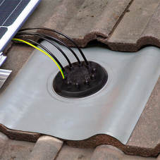 DEKS Industries Solar Roof Flashing