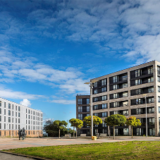 Spectus provide Flush Tilt and Turn windows for Waterfront 3, Edinburgh