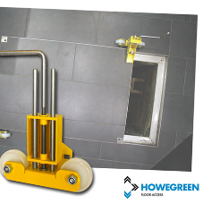 Why use Howe Green Access Cover Skates to lift heavy floor access covers