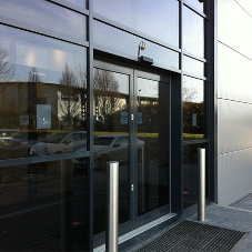 High-Performance Commercial Door System from Kestrel Aluminium