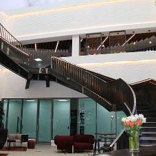 Feature staircase supplied by Canal for WD40 European Headquarters