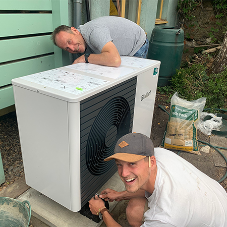 Vaillant's aroTHERM plus meets Green Peace campaigners' heating requirements