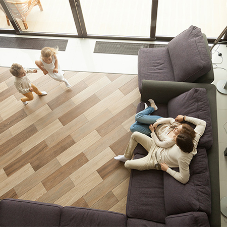Electric underfloor heating and living rooms - the perfect match