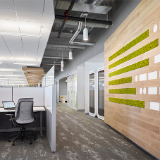 New dynamic workspace for large retail company