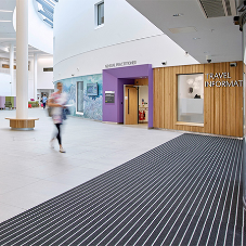 Entrance Matting at Balfour Hospital