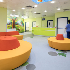 Altro brings enchantment to new children's emergency unit
