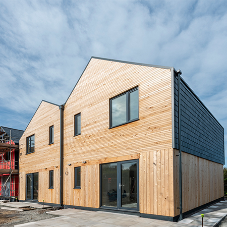 Wraptite airtightness solution provides benefits for Anglesey modular homes