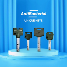 Mul-T-Lock launch their new AntiBacterial keys for a safer and cleaner option