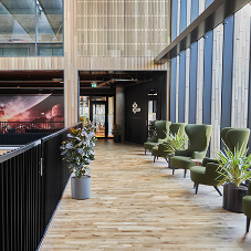 Junckers all-natural wood flooring gives lively look to Icelandic business centre