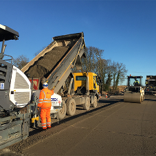 CEMEX deliver to a challenging project for A684 Bedale Bypass