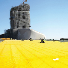 Cetco's COREFLEX® provides waterproofing solution to Saudi Arabia culture center