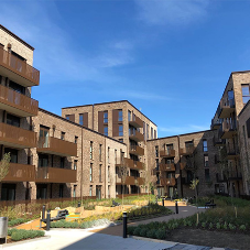 BA Systems' balustrade package was chosen by Inland Homes for Abbey Wharf
