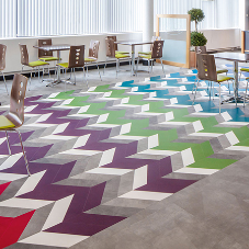 Amtico Flooring transforms Scottish University with vibrant makeover