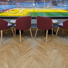 Amtico flooring helps provide Aston Villa with stylish new look