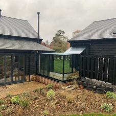 Glass Structures chosen for project in Little Gaddesden