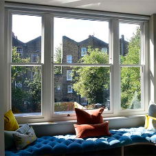 Impressive new windows for this traditional London townhouse