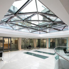Glass Structures provide structural roof glazing for challenging project