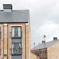 SSQ roofing slates adds style and helps to retain residential development's heritage