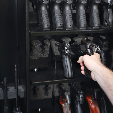 Mul-T-Lock eCLIQ hits the target by helping to secure firearms