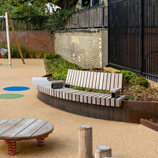 Furnitubes helps contribute to Russell Gardens transformation