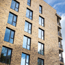 Profile 22 Optima windows fitted in new London housing development