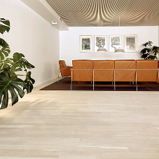 Junckers light and bright flooring helps to foster wellbeing