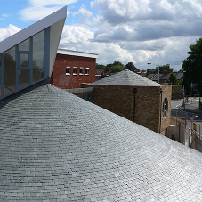 SSQ provide their Ultra Riverstone roofing slates for a new Christian Centre
