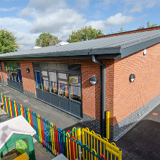 Excellent service and communication sees primary school extension completed on time with Alumasc