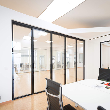 Modernise your workspace with a Glass Partition