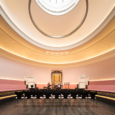 Edinburgh concert hall receives elegant renovation