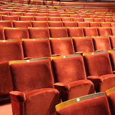 Theatre seating at the Basildon Towngate Theatre