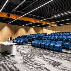 Ferco Seating supplies auditorium seats for The Hold Heritage Centre