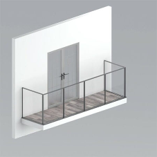 A2 Fire Rated glass balustrades from BA Systems