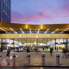 Leeds City Station supplied with dynamic lighting system
