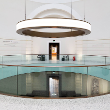 RIDI Group assist with Aberdeen Art Gallery lighting pendant