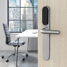 A new SMARTairⓇ wireless escutcheon boosts security even at your high-traffic doors