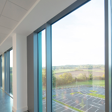 TECHNAL Sustainable Facade Systems used at new Loughborough University Science and Enterprise Park