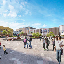 Glass act for Pop Up Power Supplies® in Barnsley's new £200m development
