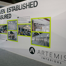 Westgate supply and install Hoardfast system for Artemis Interiors