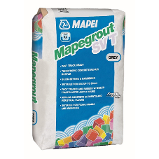 Fast setting concrete repairs with Mapegrout SV T. now available in grey