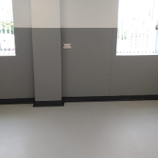 Antimicrobial cladding for Trafford General Hospital