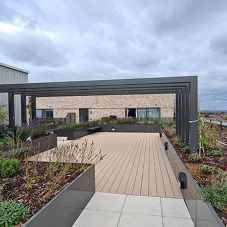 Furnitubes provide landscaping solutions to rooftop London development