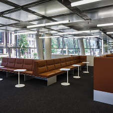 Pendant lighting from RIDI Group for Freiburg University Library