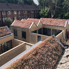 New contemporary homes in London feature SIG roofing products