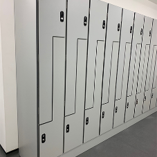 New modern offices in London feature Kemmlit lockers