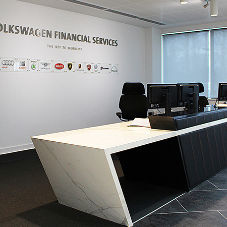 Bespoke Joinery for Volkswagen Financial Services HQ