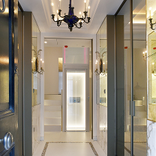 Gartec HomeLift (AHL) Illuminates and Compliments Luxury Townhouse