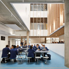 Acoustic Products provided their Laudescher Linea for Harris Academy