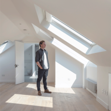 Glazing Vision's rooflights were chosen for bungalow renovation in Kent