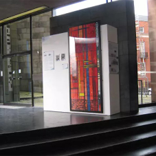 Coventry Cathedral's exhibition showcased on Panelock Gallery Display System